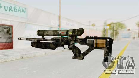 VC32 Sniper Rifle pour GTA San Andreas deuxième écran