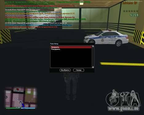 CLEO Fakearmy pour GTA San Andreas deuxième écran