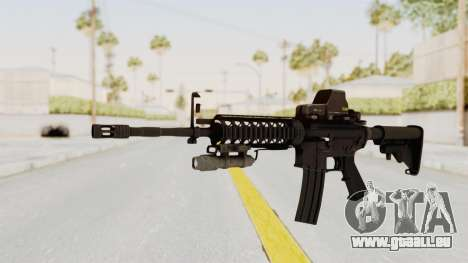 AR-15 with Eotech 552 and Flashlight pour GTA San Andreas
