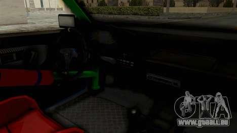 Honda Civic EF9 HellaFlush pour GTA San Andreas vue intérieure