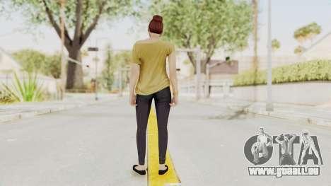 GTA 5 Online Female Skin 1 pour GTA San Andreas troisième écran
