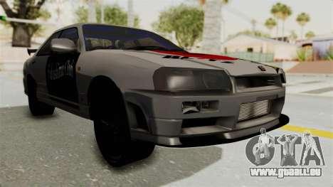 Nissan Skyline ER34 für GTA San Andreas