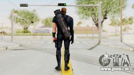 Captain America Civil War - Hawkeye pour GTA San Andreas troisième écran