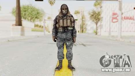 COD MW2 Ghost Ops pour GTA San Andreas deuxième écran
