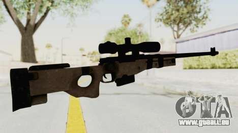 L96A1 pour GTA San Andreas troisième écran