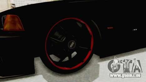 BMW M3 E36 Beast für GTA San Andreas Rückansicht