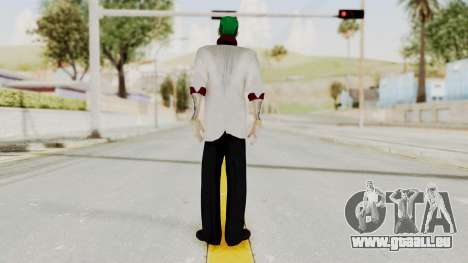 The Joker from Suicide Squad Re-Textured pour GTA San Andreas troisième écran