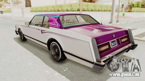 GTA 5 Dundreary Virgo Classic Custom v3 für GTA San Andreas