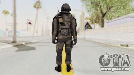 CoD MW3 Russian Military LMG Black pour GTA San Andreas troisième écran