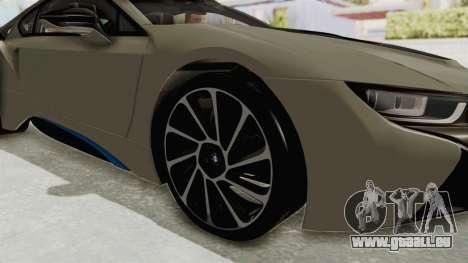 BMW i8-VS 2015 für GTA San Andreas Rückansicht
