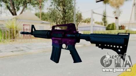 Vice M4 pour GTA San Andreas deuxième écran