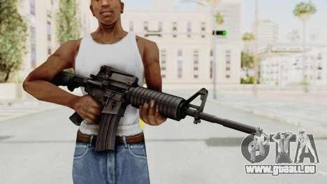 HD M4 v1 pour GTA San Andreas troisième écran