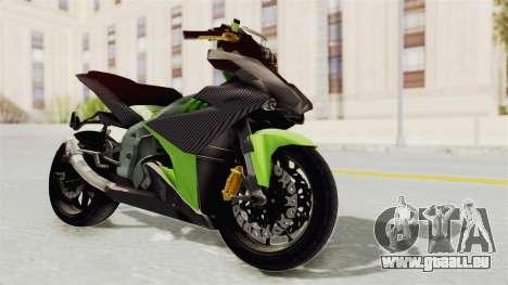 Yamaha MX King 150 Modif 250 GP pour GTA San Andreas