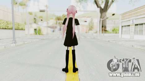Gasai Yuno Black Dress für GTA San Andreas dritten Screenshot
