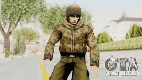 Russian Solider 3 from Freedom Fighters pour GTA San Andreas