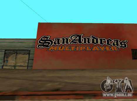 San Andreas Multiplayer Graffiti für GTA San Andreas