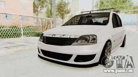 Dacia Logan 2013 für GTA San Andreas