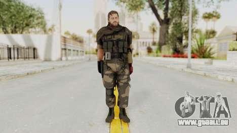 MGSV The Phantom Pain Venom Snake Sc No Patch v4 pour GTA San Andreas deuxième écran