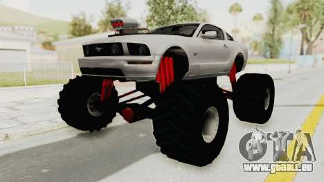 Ford Mustang 2005 Monster Truck pour GTA San Andreas