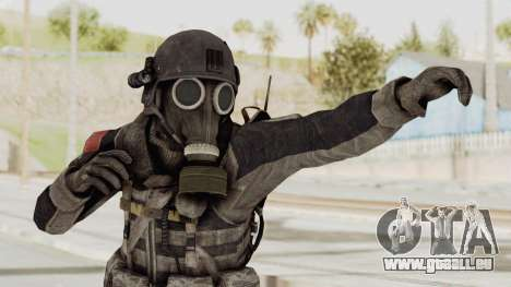 CoD MW3 Russian Military LMG Black für GTA San Andreas