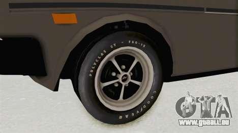 Fiat 131 Supermirafiori 1977 pour GTA San Andreas vue arrière