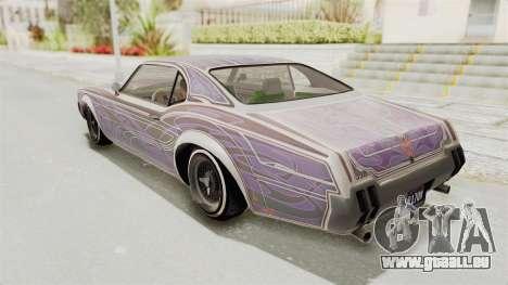 GTA 5 Declasse Sabre GT2 B pour GTA San Andreas