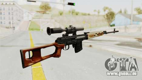 Sniper with New Realistic Crosshair pour GTA San Andreas deuxième écran