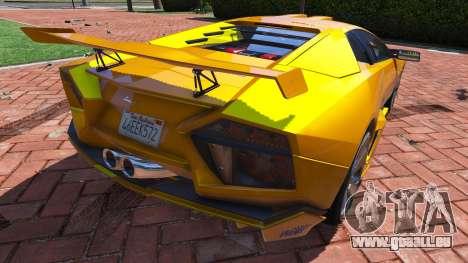 GTA 5 2008 Lamborghini Reventon 1.0 hinten links Seitenansicht