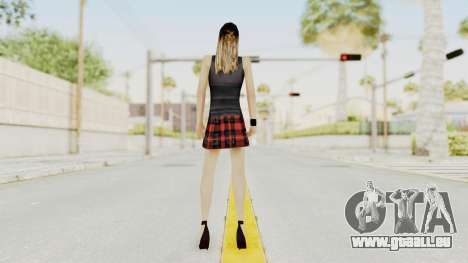 New Skin Michelle für GTA San Andreas dritten Screenshot
