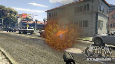 GTA 5 Real Flamethrower 1.5 cinquième capture d'écran