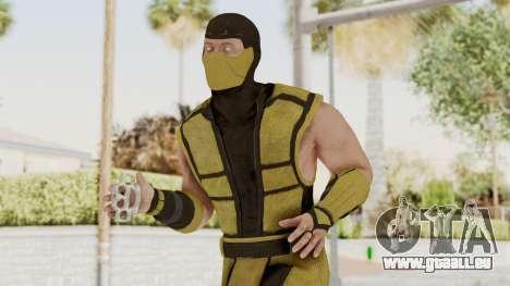 Mortal Kombat X Klassic Scorpion für GTA San Andreas