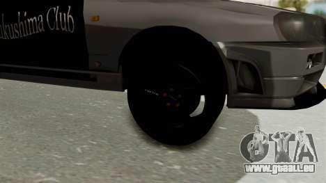 Nissan Skyline ER34 pour GTA San Andreas vue arrière