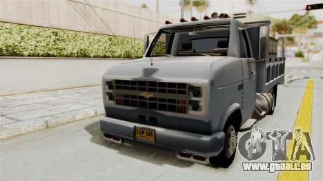 Chevrolet G30 pour GTA San Andreas vue de droite
