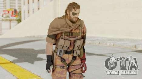 MGSV The Phantom Pain Venom Snake Scarf v5 für GTA San Andreas