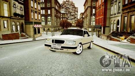 GAZ 3110 Turbo WRX STI für GTA 4 linke Ansicht