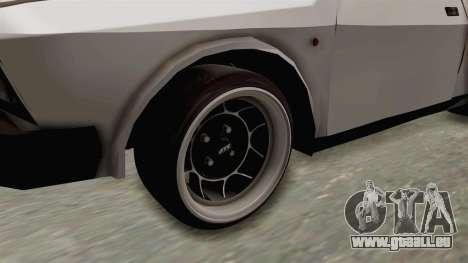 Zastava Yugo Koral 55 für GTA San Andreas Rückansicht