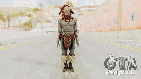 Mortal Kombat X - Kotal Kahn für GTA San Andreas zweiten Screenshot