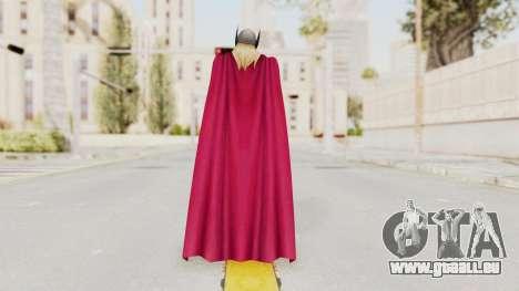 Marvel Future Fight - Thor (Jane Foster) pour GTA San Andreas troisième écran
