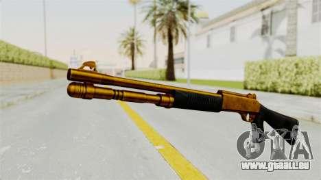 XM1014 Gold pour GTA San Andreas