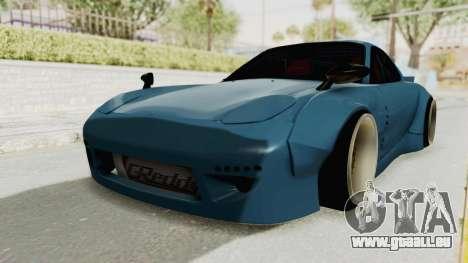 Mazda RX-7 FD3S Rocket Bunny v2 pour GTA San Andreas