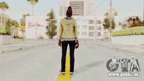 GTA 5 Denise Clinton v1 für GTA San Andreas dritten Screenshot