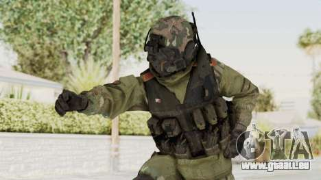 Advanced Warfare North Korean Assault Soldier für GTA San Andreas