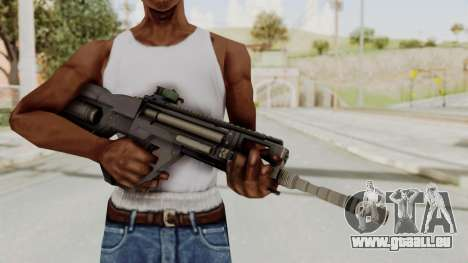 Integrated Munitions Rifle Black pour GTA San Andreas troisième écran