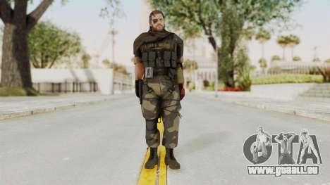 MGSV The Phantom Pain Venom Snake Scarf v4 pour GTA San Andreas deuxième écran