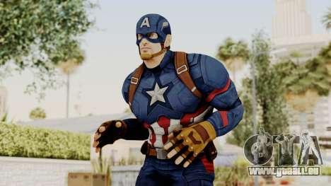 Captain America Civil War - Captain America für GTA San Andreas