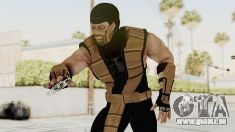 Mortal Kombat X Klassic Tremor für GTA San Andreas