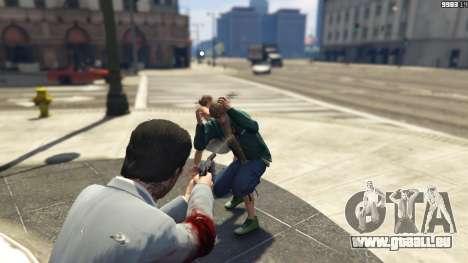 GTA 5 Realistic Bullet Damage deuxième capture d'écran