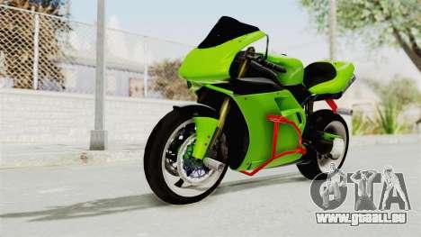Ducati 998R Modif Stunt für GTA San Andreas