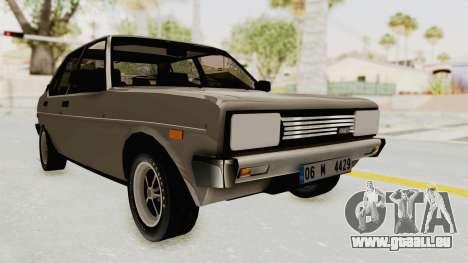 Fiat 131 Supermirafiori pour GTA San Andreas