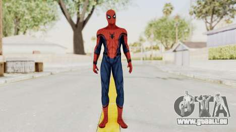 Captain America Civil War - Spider-Man pour GTA San Andreas deuxième écran